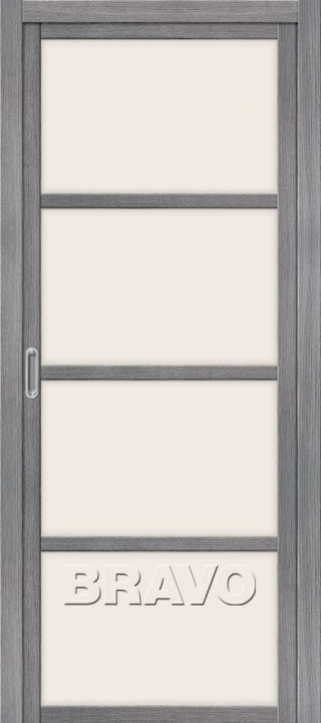 Дверь раздвижная с эко шпоном Твигги V4