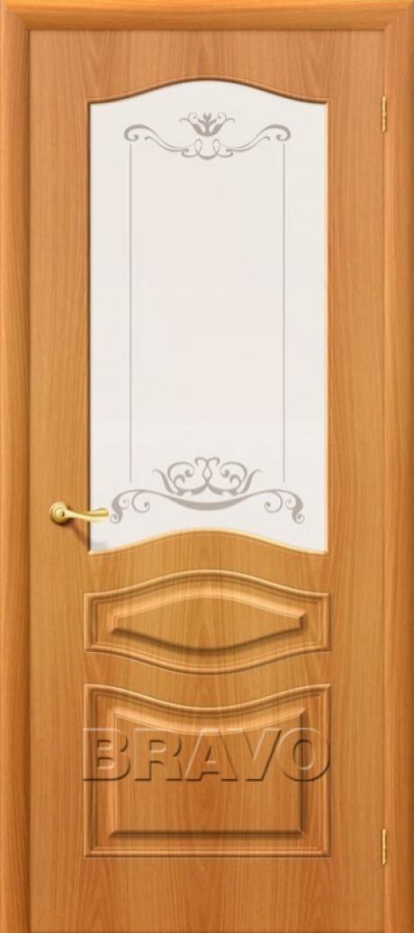 Дверь с ПВХ-пленкой Модена ПО