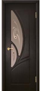 Дверь Муза Ультрашпон Остекленная