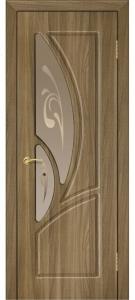 Дверь Муза ПВХ Остекленная