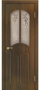 Дверь Аврелия ПВХ Остекленная