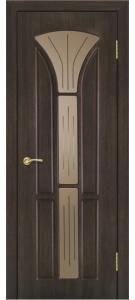 Дверь Сапфир 3 ПВХ Остекленная