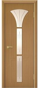 Дверь Сапфир 3 Ультрашпон Остекленная