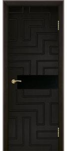 Дверь Лабиринт с фрезеровкой