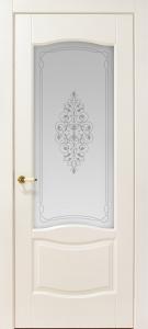 Дверь Висконти Остекленная