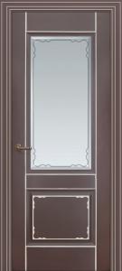 Дверь Мадрид Остекленная