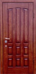 Дверь с МДФ модель 55