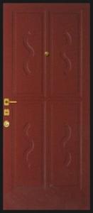 Дверь с МДФ модель 58