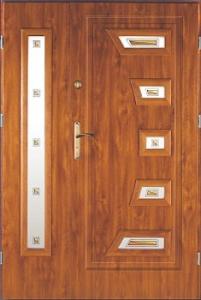 Дверь с МДФ модель 105