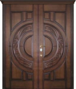 Дверь с МДФ модель 106