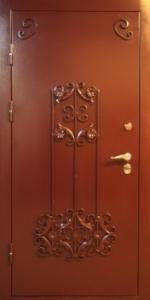 Дверь с порошковым напылением модель 44
