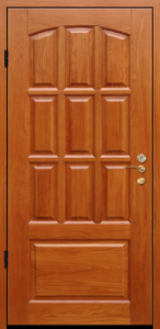 Дверь с МДФ модель 37
