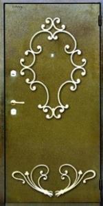 Дверь с порошковым напылением модель 50