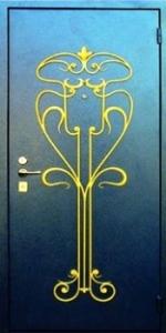 Дверь с порошковым напылением модель 51