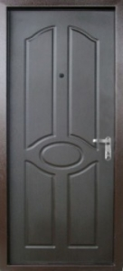 Дверь с МДФ модель 75