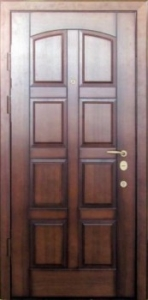 Дверь с МДФ модель 117
