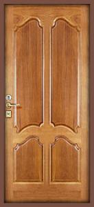 Дверь с МДФ модель 14