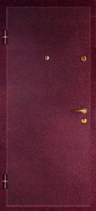 Дверь с порошковым напылением модель 39