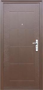 Дверь с МДФ модель 2