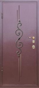 Дверь с порошковым напылением модель 18
