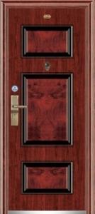Дверь с МДФ модель 4