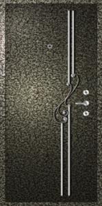Дверь с порошковым напылением модель 48