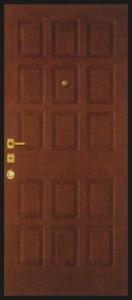 Дверь с МДФ модель 48