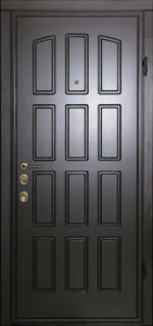 Дверь с МДФ модель 112