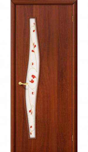 Ламинированная дверь 6П