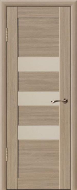 Дверь эко-шпон Квадро 3С Остекленная