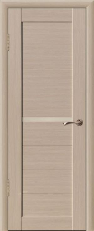 Дверь эко-шпон Квадро 1 Остекленная