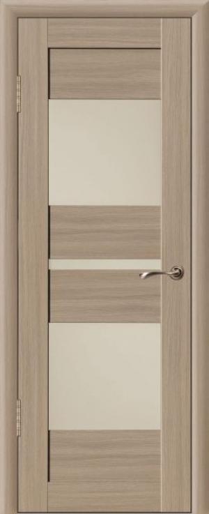 Дверь эко-шпон Макс 3 Остекленная