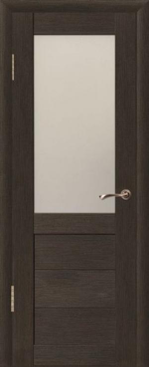 Дверь эко-шпон Макс 1 Остекленная
