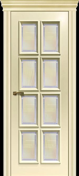 Дверь Корсо 8 Остекленная
