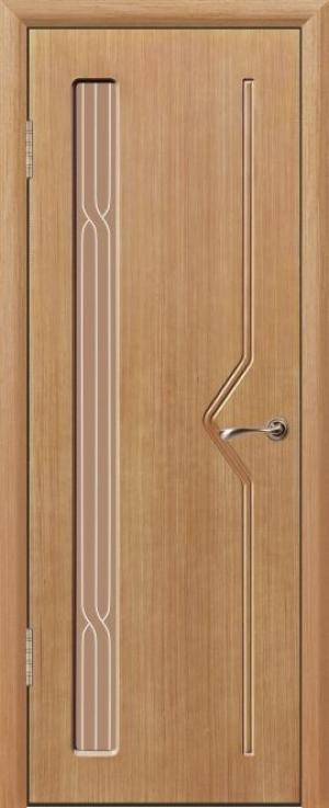Дверь шпонированная Спектр Остекленная